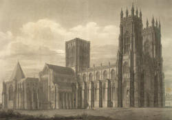 North West View of the Cathedral and Metropolitical Church of Saint Peter, York